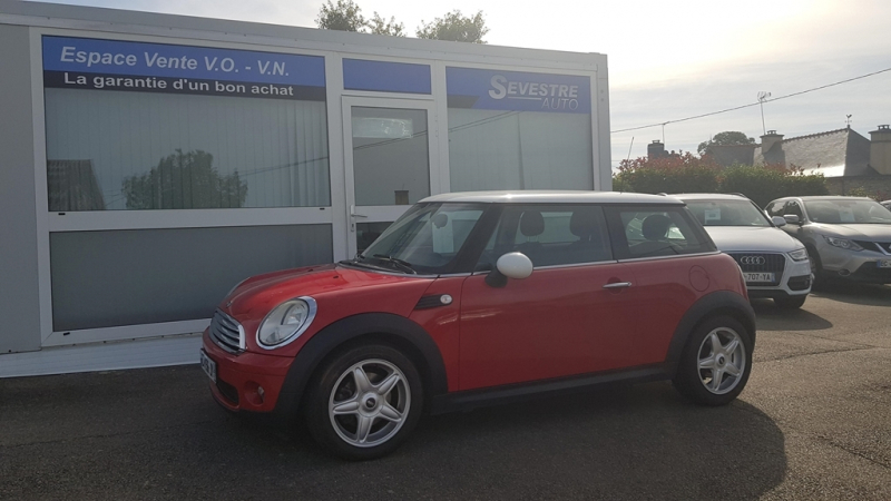 Mini MINI COOPER 120CH PACK CHILI Essence ROUGE Occasion à vendre