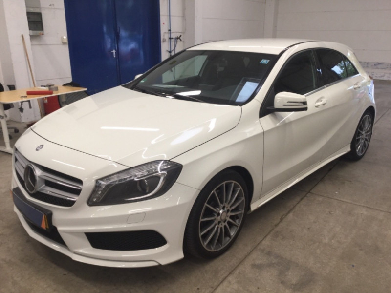 Mercedes-Benz CLASSE A (W176) 250 VERSION SPORT 7G-DCT Essence BLANC Occasion à vendre