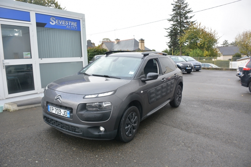 Citroen C4 CACTUS BLUEHDI 100 FEEL BUSINESS S&S 82G Diesel GRIS Occasion à vendre