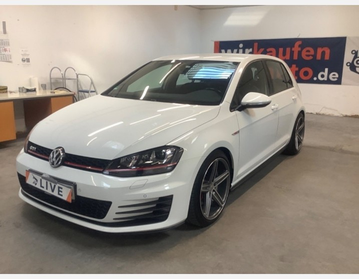 Volkswagen GOLF VII 2.0 TSI 220CH BLUEMOTION TECHNOLOGY GTI 12CV 5P Essence BLANC Occasion à vendre