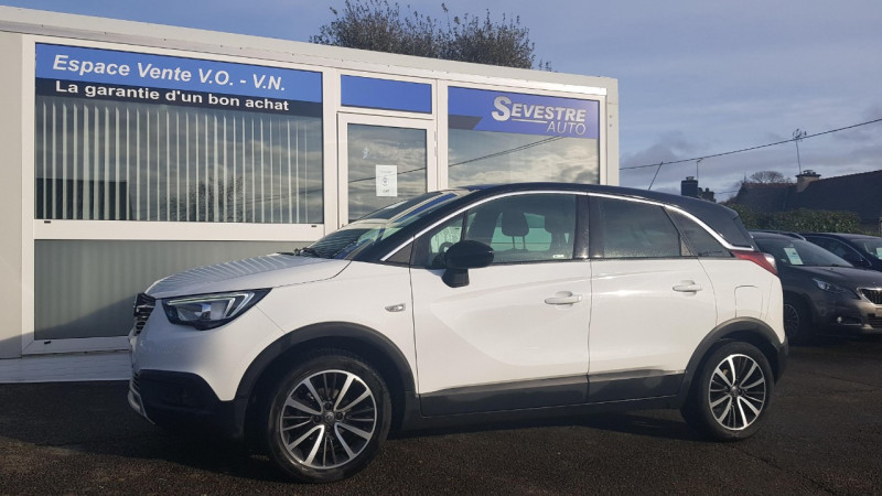 Opel CROSSLAND X 1.6 D 99CH ECOTEC INNOVATION Diesel BLANC Occasion à vendre