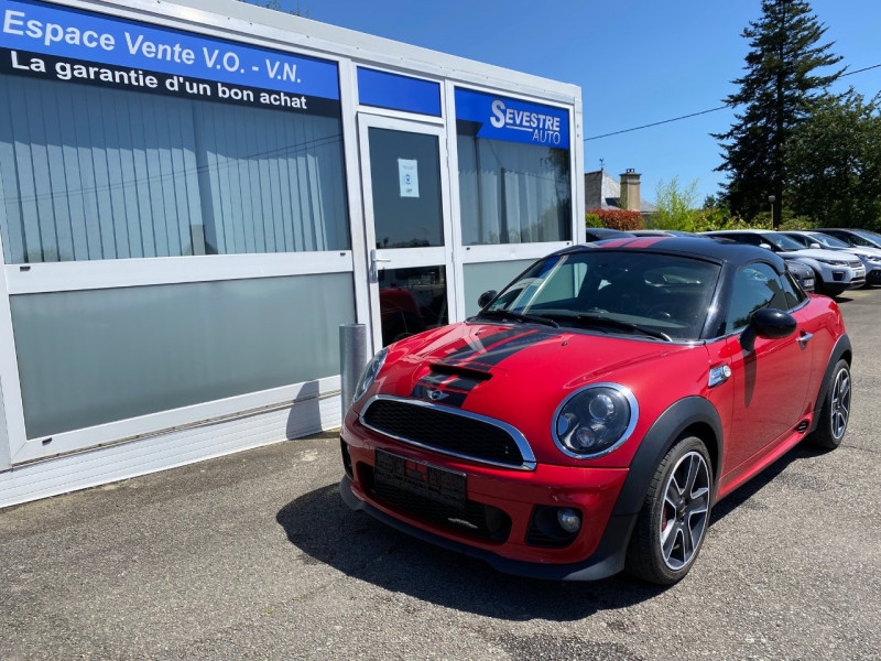 Mini COUPE JOHN COOPER WORKS 211CH Essence ROUGE Occasion à vendre